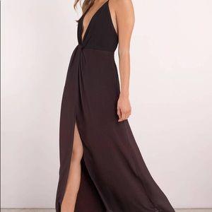 ** SALE ** Tobi Wine Ombré Maxi Dress